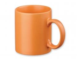 Keramický hrnek MUG, 310ml - oranžová