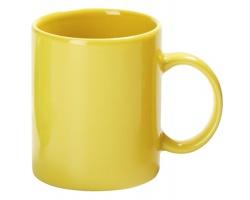 Keramický hrnek MUG, 320 ml - žlutá