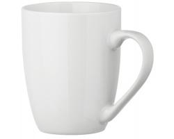 Keramický hrnek ESTEBAN WHITE, 350 ml - bílá