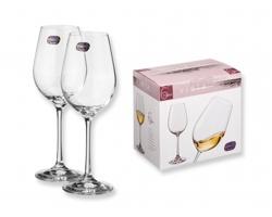 Sada sklenic na víno VINOS, 6 x, 250 ml - transparentní