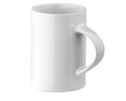 Bílý keramický hrnek ENKO, 280 ml - bílá