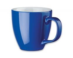 Porcelánový hrnek s hydroglazurou PANTHONY, 440 ml - tmavě námořnická modrá