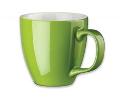 Porcelánový hrnek s hydroglazurou PANTHONY, 460 ml - světle zelená