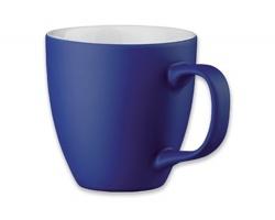 Porcelánový hrnek s hydroglazurou PANTHONY MAT, 440 ml - modrá