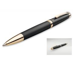 Kovové kuličkové pero Santini EZEKIEL - černá