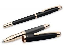 Kovové keramické pero Santini EZEKIEL ROLLER - černá