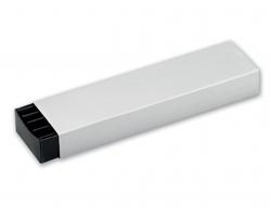 Papírová krabička na 2 pera SABINA - šedá