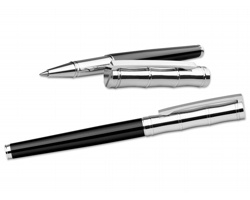 Kovové keramické pero Santini ELIO ROLLER - černá