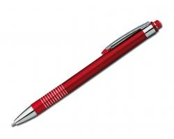 Sada kuličkového pera a mechanické tužky FUEGO SET - červená