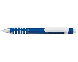 Plastové kuličkové pero LATIFA s modrou náplní - modrá
