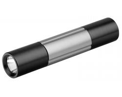 Kovová svítilna s nářadím Beaver DEXTER, 6 funkcí - ocelově šedá
