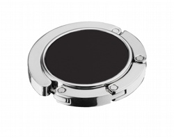 Kovový držák na kabelku ZARITA s magnetem - černá