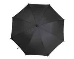 Vystřelovací deštník AUTOMATIC s dřevěnou rukojetí - černá