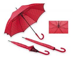 Automatický deštník Santini POPPINS - červená