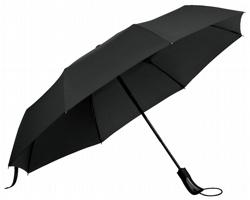 Skládací deštník CAMPANELA s obalem - černá