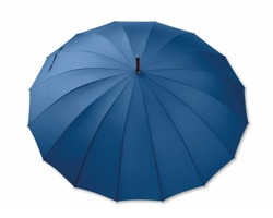 Velký deštník HULK s dřevěnou rukojetí - polární modrá