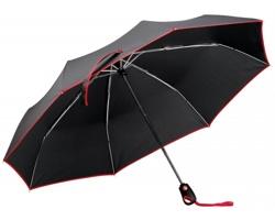 Skládací deštník DRIZZLE s pouzdrem - červená