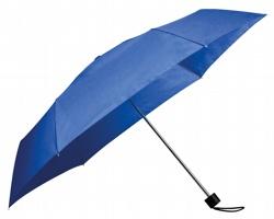 Polyesterový skládací deštník SEAGULL - královská modrá