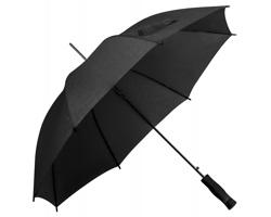 Polyesterový deštník DARNEL s automatickým otevíráním - černá