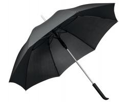 Značkový polyesterový vystřelovací deštník Santini SESSIL, 8 panelů - černá