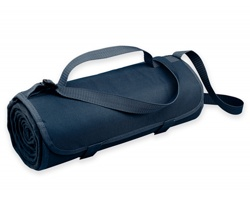 Fleecová cestovní deka FLEECE s voděodolnou úpravou - modrá