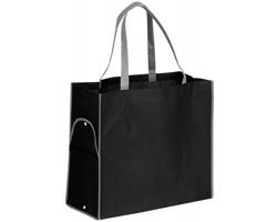 Skládací nákupní taška PERTINA - černá