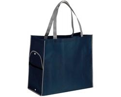 Skládací nákupní taška PERTINA - modrá