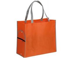 Skládací nákupní taška PERTINA - fluorescenční oranžová