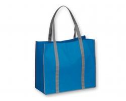 Netkaná nákupní taška VITELA - nebesky modrá