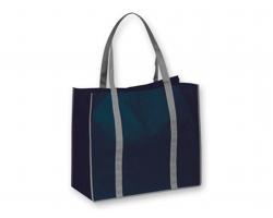 Netkaná nákupní taška VITELA - modrá
