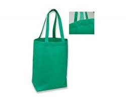 Netkaná nákupní taška TANAH - zelená
