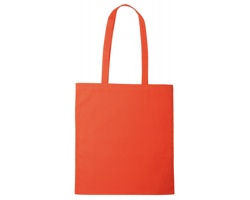 Nákupní taška ALENA I s dlouhými držadly - oranžová