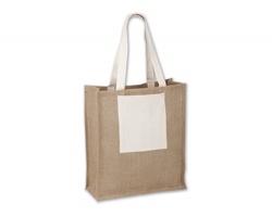 Jutová nákupní taška SINTA - přírodní