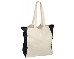 Bavlněná nákupní taška LIKO - černá