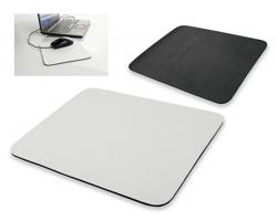 Protiskluzová podložka pod PC myš MICKEY tvaru odélníku - bílá