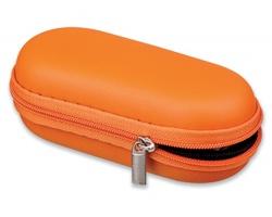 Odolné pouzdro na IT doplňky CASE I se zapínáním na zip - oranžová