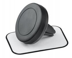 Pryžový držák mobilního telefonu MAGNETO s magnetem - černá