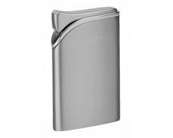 Kovový piezo zapalovač HARDY - stříbrná
