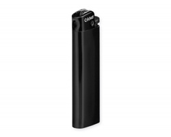 Značkový plastový jednorázový zapalovač Cricket CRICKETO s kamínkem - černá