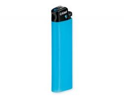 Značkový plastový zapalovač Cricket CRICKETO NEON - světle modrá