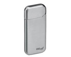 Kovový USB zapalovač se žhavící spirálou a dobíjecím kabelem ESCOBAR - stříbrná