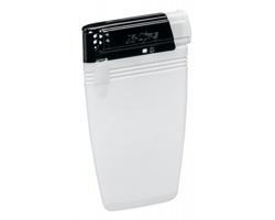 Plastový placatý zapalovač FLATEN pro jednorázové použití - bílá