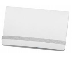 Lepicí papírky TAZY v papírových deskách - bílá