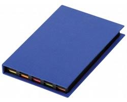 Sada barevných lepicích papírků HEDVIKA v papírovém obalu - modrá