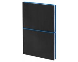Poznámkový zápisník BLOGER s gumičkou, formát 145 x 210 mm - královská modrá