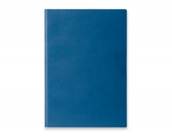 Poznámkový zápisník ELIANA s flexibilními deskami, formát A5 - modrá