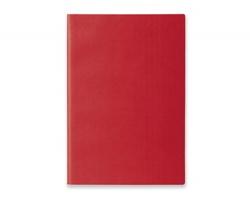 Poznámkový zápisník ELIANA s flexibilními deskami, formát A5 - červená