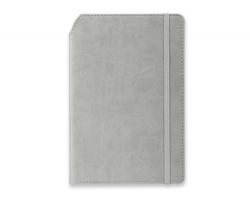 Linkovaný poznámkový zápisník MORIAH se 2 doplňky - světle šedá
