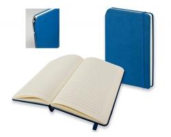 Linkovaný poznámkový zápisník MORIAH se 2 doplňky - modrá