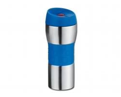 Nerezový termohrnek TIMUR, 380ml - modrá